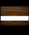 "IPI Laserables Matte Medium Walnut/White 1/16"" Engraving Plastic"