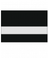 "IPI Laserables Matte Clear/Laser Black 1/16"" Reverse Engraving Plastic"