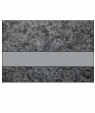 """IPI Architectural Stones Deep Charcoal Marble/Pewter 1/16"""" Engraving Plastic"""