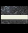 """IPI Architectural Stones Gloss Black Onyx Granite/Bone White 1/16"""" Engraving Plastic"""