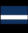 "IPI Primary Plus Navy Blue/White 1/16"" Engraving Plastic"