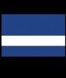 "Rowmark UltraGrave Satin Air Force Blue/White 1/16"" Engraving Plastic"
