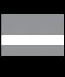 "Scott-Ply Colors Smoke Grey/White 1/16"" Engraving Plastic"