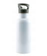 White Stainless Steel Water Bottle